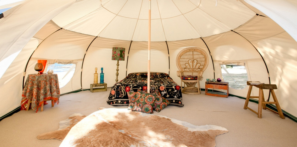 Tents & Glamping