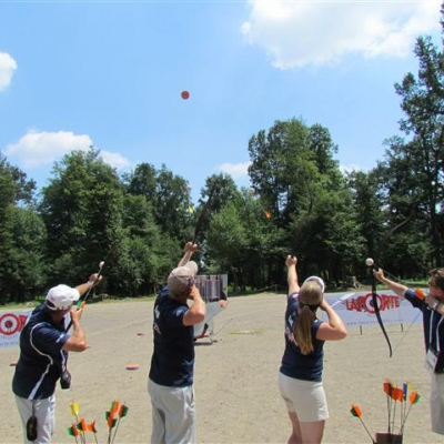 Keeping your guests entertained - Archery